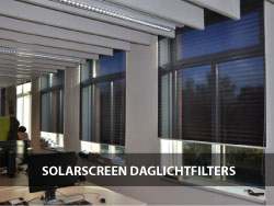 Fotogalerie -  Solarscreen Daglichtfilters
