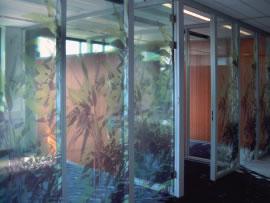 glasfolie op maat kantoorruimte