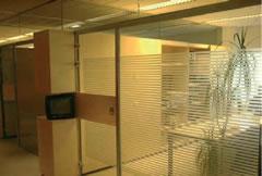 PRIVACY GLASFOLIE op kantoor
