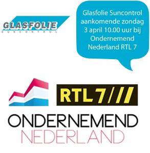 Glasfolie Suncontrol RTL7 - 2